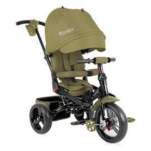 Lorelli Jaguar Tricycle Évolutif pour Bébé/Enfant Vert