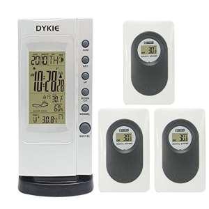 High Accuracy LCD RCC Wireless Weather Station Indoor Thermomètre numérique d'extérieur avec hygromètre à distance