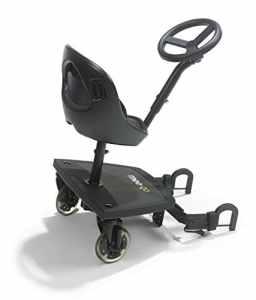 Mee-Go Sit N Ride Planche universelle à deux roues avec siège et volant pour poussette Compatible avec tous les landaus et poussettes