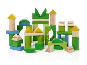 Brio 30147 – Jouet de Premier Age – Blocs de Construction – Colores – 50 pièces