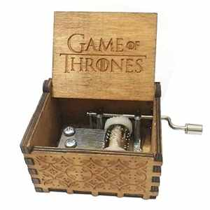 Hudson Crafts Game of Thrones Boîte à Musique