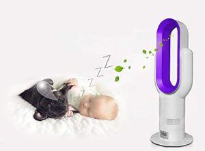 Nwn Réchauffeur électrique Vertical Ultra Silencieux sans Ventilateur avec Appareil de Chauffage Domestique à économie d'énergie (Couleur : Purple)