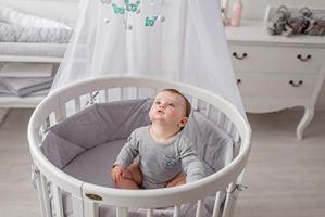 ComfortBaby® SmartGrow 7en 1multifonction Lit de Bébé et d'enfant Blanc