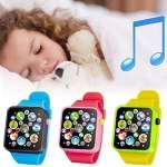 Nisels Early Childhood Montre éducative pour Enfants Montre-Bracelet pour Enfants Musique Touch Watch pour garçons