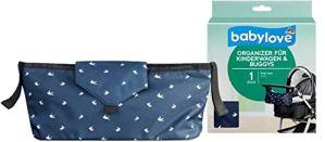 Babylove Organisateur pour poussette et poussette Bleu