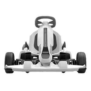 Chenyang86 Karting – Quatre Roues intelligentes pour Une Installation Facile du Karting ( Color : Blanc )