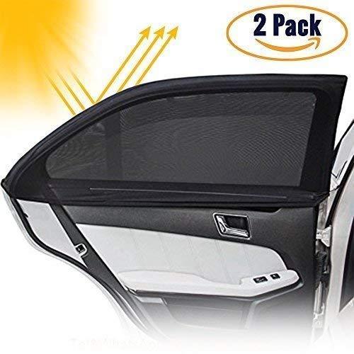 Mondaynoon Fonction 2-in-1 voiture transparent Pare-soleil anti reflet et /éblouissement et comme Lunettes de vision nocturne pour conduite de jour et de nuit