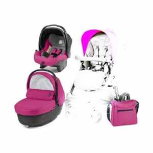 Peg Perego XL sportivo – Set modulaire, couleur Bloom Pink