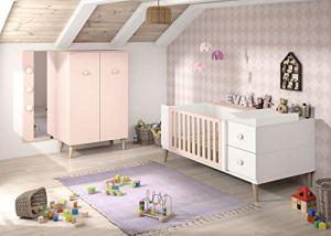 Maisonnerie 1553-605-01 Chambre Bébé Création Olivia Complète avec ...