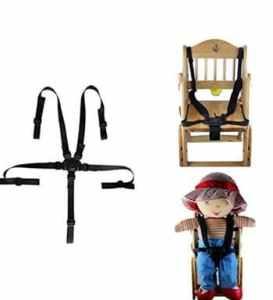 WJiXin Ceinture de sécurité à trois points pour enfants pour tricycle