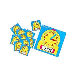 Learning Resources Write-on/Wipe-Off horloges 10/PK