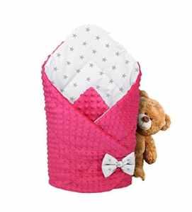 Sac de couchage pour enfant Coton Gigoteuse 80x 80anti-allergique ganzjähriges steck Coussin Baby Sac de couchage souple Couverture Minky Coussin de bébé
