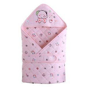 Été, Couverture De Literie En Coton Mince Pour BéBé Nouveau-Né GarçOns Et Filles, RafraîChissante Et Absorbant La Sueur, 80 cm × 80 cm,Pink