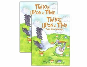 Juste plusieurs best-seller. Twice Upon A Time Twins Baby Memory Book (couverture rigide) Lot de 2