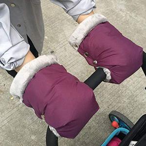 lā Vestmon Poussette Gants Hiver Protège Mains Chauds Gants Antigel Gants imperméables Confort Doux Chaud Produits de Plein air pour la mère et l'enfant