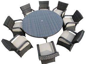 LYQZ Table de Salle à Manger rectangulaire et chaises de Jardin en rotin de réception d'affaires