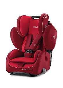 Recaro 4031953060939Siège auto enfant Young Sport Hero, rouge