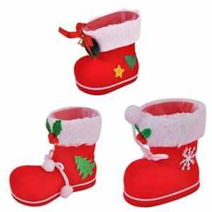 Togames-FR Creative Design De Noël Flocage Bottes Bottes De Bonbons Maison Drôle Noël Décorations Fournitures Enfants Enfants Cadeaux