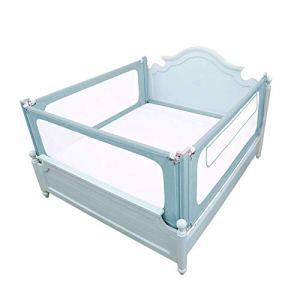 6-WUTOLUOHANS Rails de lit pour bébé Extreme Edition Lit de bébé Universal Fence Garde-Corps pour lit Trois côtés déflecteur (Trois tranches) ((Taille : 180×200cm)