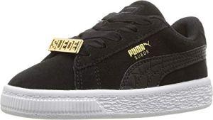 Puma – PUMA – Chaussures Fabuleuses en Daim pour bébé B-Boy, 20 EU, Puma Black/Puma Black