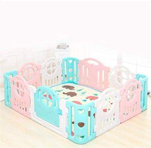 KAPR Clôture de Jeu à l'intérieur à l'intérieur à la Maison bébé bébé Garde-Corps de Protection de Protection de Garde-Corps Pliable portatif de bébé Bambin