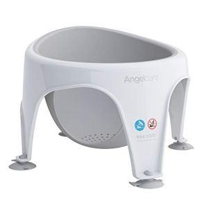 Angelcare – Anneau de Bain pour Bébé – Confort et Sécurité – 6 mois à 18 mois – Gris