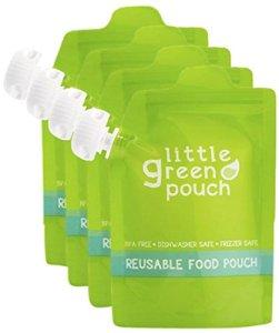 Little Green Pouch – Poches de conservation réutilisables Sans BPA, PVC et phtalates, anti-gachis