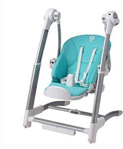 Berceau Chaise berçante, Chaise à manger Rocking Chair Combo, à trois vitesses Dossier Réglage de la hauteur Réglage sept vitesses for 0-3 ans Bébé, trois Alimentation mode Confort Pliable Président