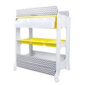 KAAI Urine Multi-Fonction du Nouveau-né Lit BB Changement de Couche-Culotte Table de Soins Table Baby Touch Massage lit avec Baignoire