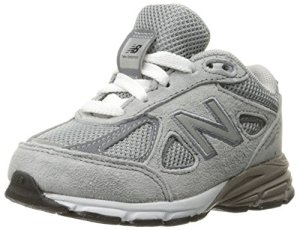 New Balance KV990 Infant Running Shoe (Infant/Toddler), Grey/Grey, 26.5 W EU