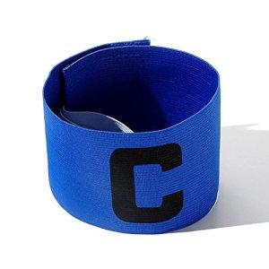 RONSHIN Les Sports Casque de Football de Couleur vive Football Brassard Magic Tape Conception Anti-Goutte pour Adultes et Jeunes Blue