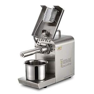 Cuisinière cuisine Huile de graines de presse extrator en acier inoxydable Commercial Accueil automatique d'arachide noix de coco Huile de sésame Machine de presse 40×36.5x16cm Zys
