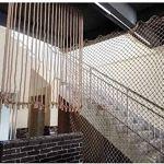 Filets de corde de chanvre, des filets de décoration murale photo, filets de sécurité des enfants, des filets de protection contre les chutes d'escalier, des cloisons, des clôtures balcon de fenêtres,