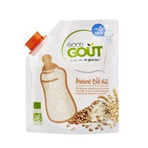 Good Goût – BIO – Céréales Avoine Blé Riz dès 6 Mois 200 g