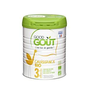 Good Gout – BIO – Lait de Croissance 3eme age de 10 Mois à 3 ans 800 g