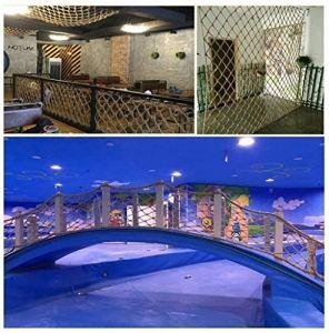 Maille chanvre, maille décorative, la protection de l'escalier des enfants, la sécurité balcon filet anti-chute, maille plafond, filet d'escalade, filet de séparation, mur photo, filet de étendoir