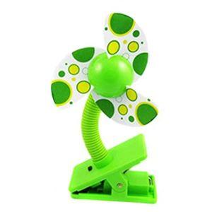 Mini ventilateur pour poussette, parc, bureau dans la voiture, mini ventilateur à clip pour poussette, lit de bébé, parc ou voyage en plein air