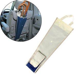 Plier Et Suspendre Le Siège Arrière De La Chaise Pour Recevoir Un Porte-parapluie Pliable Parapluie Pour Voiture Imperméable à L'eau