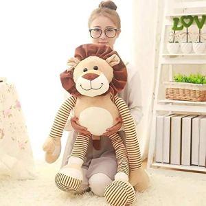 SILENCE 1 Mignon Simba Lion King en Peluche Jouet Simba Doux en Peluche Animal Poupée Enfants d'anniversaire Cadeau-90 CM