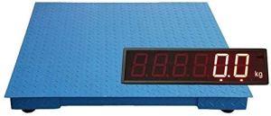 Taoke Précision de Mesure Balance électronique Charge Grande Affichage de l'écran et de Haute précision Précision de 1-3tons, Portable et Facile à Utiliser (Couleur: 0,8 x0.8m 3 tonnes)