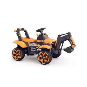 Voiture d'enfants rc,SYXX Can Ride On les Pelles for enfants, 3-6 ans garçons de jouets électriques, Surdimensionné quatre roues de charge des véhicules d'ingénierie, garçons et filles Cadeaux for enf
