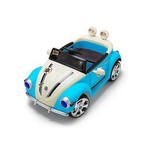 Voiture d'enfants rc,SYXX de voiture électrique avec portes doubles for les enfants, les enfants voiture électrique qui peut être assis, voiture de jouet for les garçons et les filles de 1-4, Cadeau C