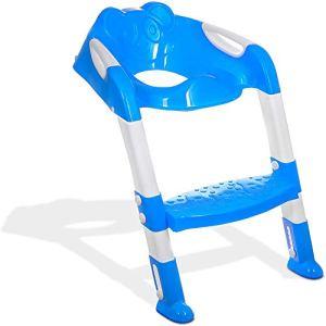 AFF Portable bébé Pot Pot avec échelle Enfants Housse de siège de Toilette Pliante échelle réglable sièges de Formation de Pot pour Enfants