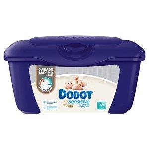 Dodot Sensitive Lot de 6 boîtes de 54 serviettes pour bébé Total 324 serviettes
