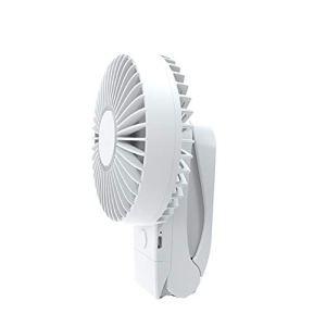 WESEEDOO Ventilateur Oscillant a Pince Ventilateur Pince Clip sur Batterie Ventilateur Fan Clip sur Petit Clip sur Le Ventilateur White