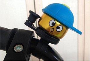 A-goo Hot nouveaux enfants Vélo de Bell Mini Bell Smetersthell Boy Bague Bell pour vélo de football Corne