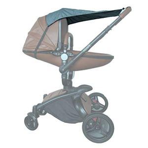 Ettzlo Parapluie imperméable pour poussette de bébé