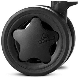 Quinny Zapp Ensemble de roues Noir (1x avant et 2x arrière/roues arrière)