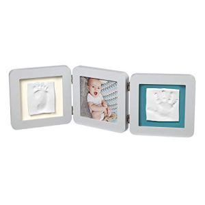 Baby Art My Baby Cadre Photo à Double Empreinte Pour votre Bébé, Couleurs Assortiess, 1 Unité