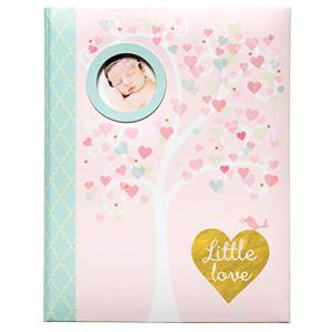 CR Gibson Premier livre de mémoire pour fille – Ensemble cadeau pour bébé nouveau-né